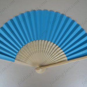 blue-folding-fans-portable-bamboo-hand-fans-fashion-folding-paper-fans