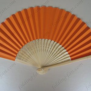 orange-top-quality-hand-held-folding-fans-cheap-paper-fans-hand-fans