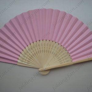 pink-bamboo-hand-folding-fan-for-event-or-promotion-cheap-paper-fans-wholeasle