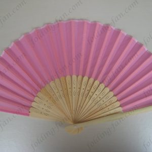 pink-bamboo-silk-fabric-hand-folding-fans-wedding-gifts-souvenirs
