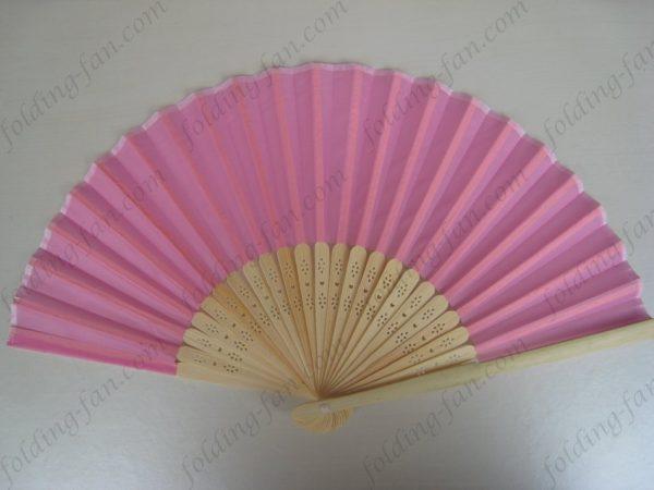 pink-bamboo-silk-fabric-hand-folding-fans-wedding-gifts-souvenirs