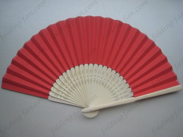 red-folding-hand-fan-wedding-favor-fans-paper-foding-bamboo-hand-held-fan