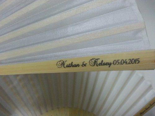 customized-white-silk-fans-australia